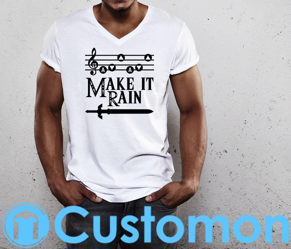 843e6f6f77b13 Make it Rain Legend of Zelda Men s T-shirt DESIGNER by  Cerryl https