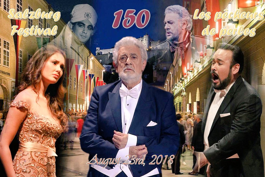 "Placido Domingo on Twitter: ""Celebrating tonight my 150th career ..."