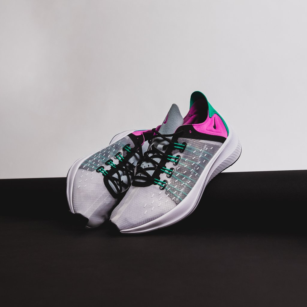 check out 8a98c 12516 The EXP-X14 featured in wolf grey, clear emerald, and viola, is now  available at our Hawkins location for the retail price of  120.  expx14   nike ...