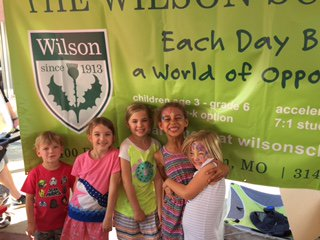 Join us for some family fun! Wilson will be hosting a butterfly activity for small children in the Creative Castle on Sept. 8 & 9 @STLArtFair Volunteer in the  Wilson booth today! http://ow.ly/Xjyz30lwYIJ