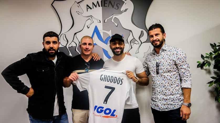 Saman Ghoddos Amiens SC