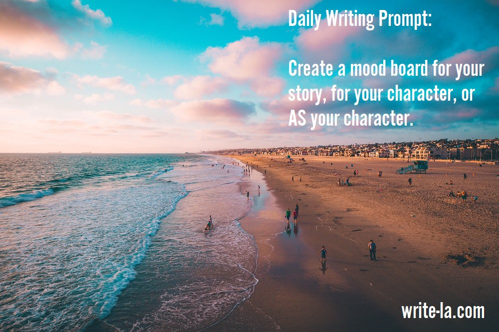We have to give credit for this #writingprompt to @johnkbucher - thanks, John!