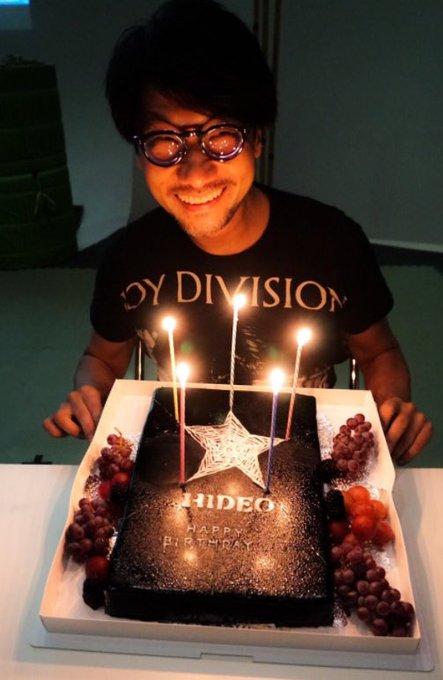 HAPPY BIRTHDAY MR HIDEO KOJIMA !!!