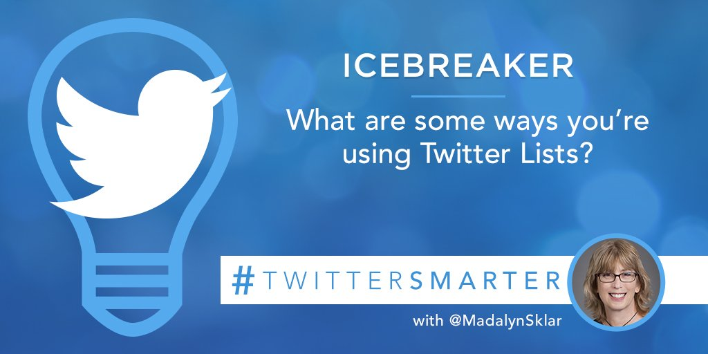 Madalyn Sklar Digital Marketing Coach On Twitter Icebreaker