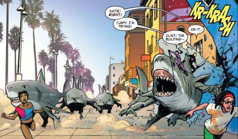 Image result for west coast avengers 2018 landshark