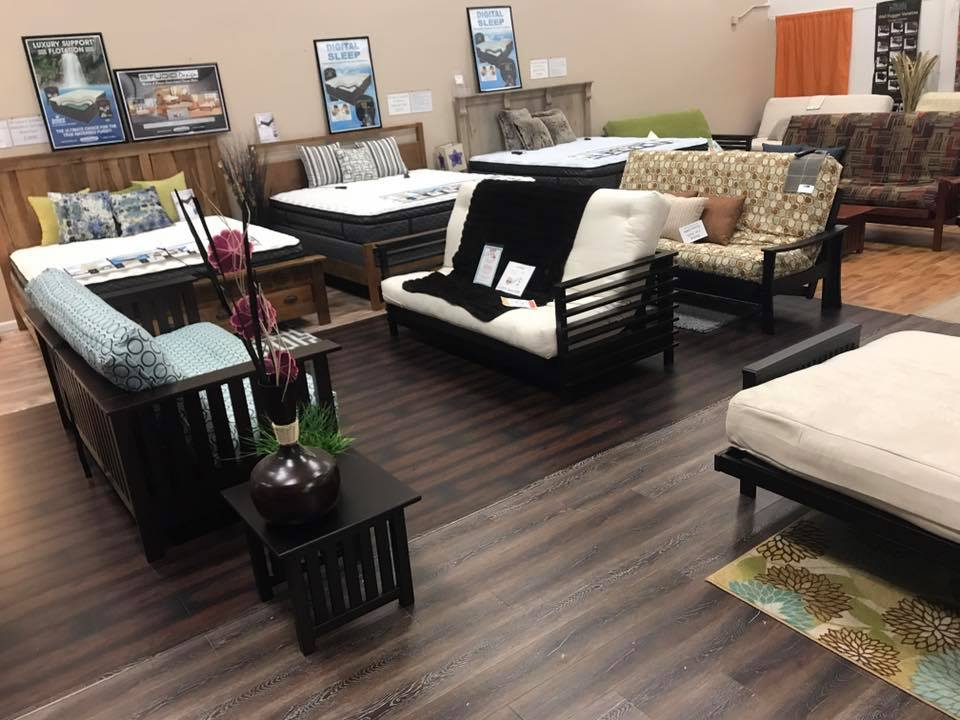 Our Wall Hugger Futon Frames Platform Beds Softside Waterbeds Digital Air Bedattresses Are Now 20 50 Off