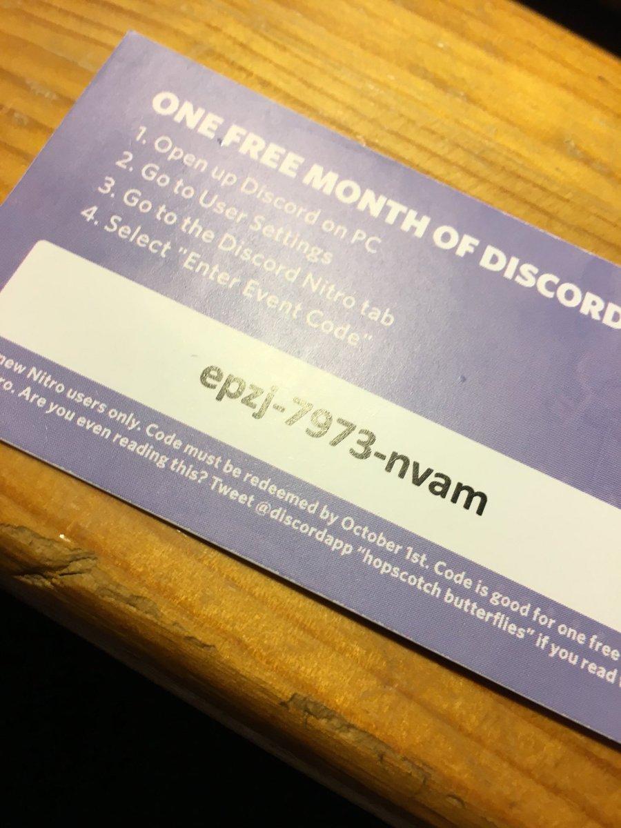 Codes For Nitro Discord