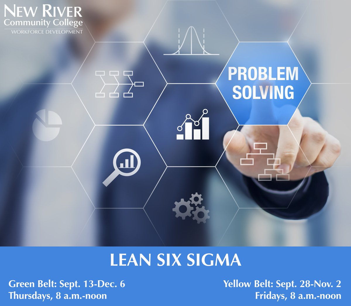 New River Cc On Twitter Earn Lean Six Sigma Certification To Help