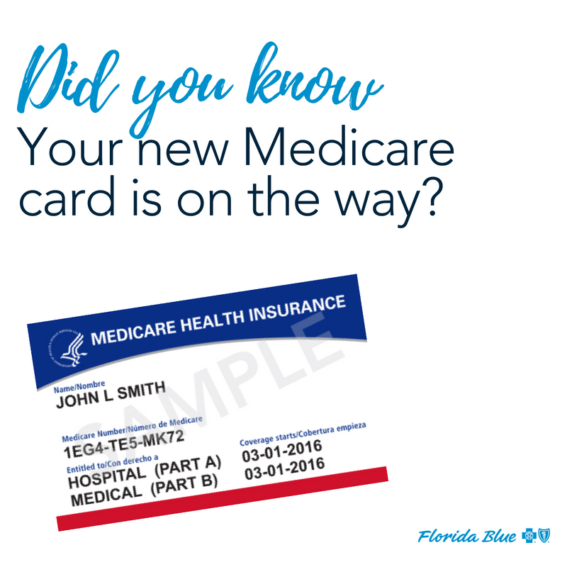 Florida Blue Medicare >> Florida Blue On Twitter Medicare Is Sending New Cards To People