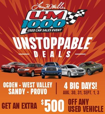 Utah Used Car Sales >> Larry H Miller Auto On Twitter Next Week We Ll Be Kicking