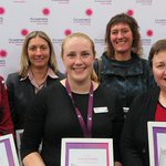 Last night we celebrated our annual Staff Awards - a chance to highlight staff nominated by their peers for truly demonstrating the Women's values of courage, passion, discovery & respect. Congratulations to all!