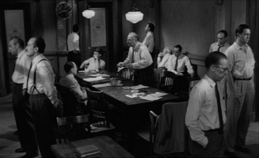 "One Perfect Shot on Twitter: ""12 ANGRY MEN (1957) Director of Photography:  Boris Kaufman Director: Sidney Lumet Buy via Amazon:  https://t.co/e1QT2qbdCW… https://t.co/iAUgSZB1UL"""