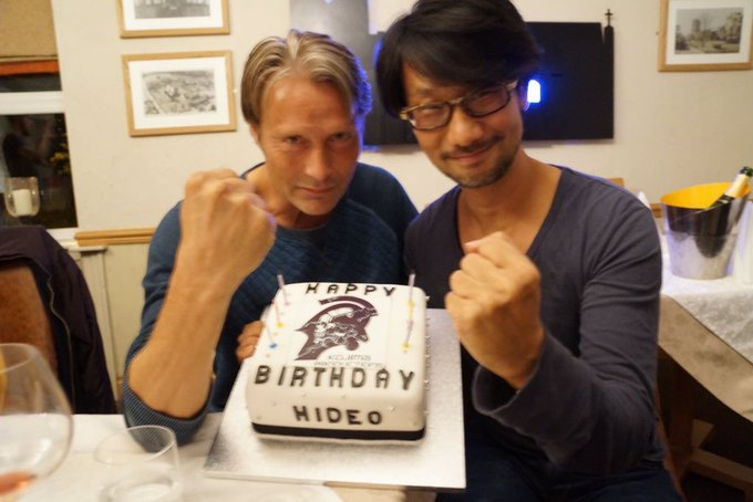 Happy Birthday,  Hideo Kojima  !