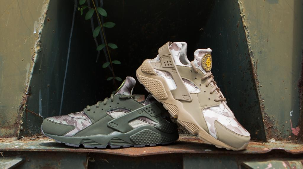 8bd20e470c65 desert or woods which is your favorite print nike huarache camo pack  starting to hit stores