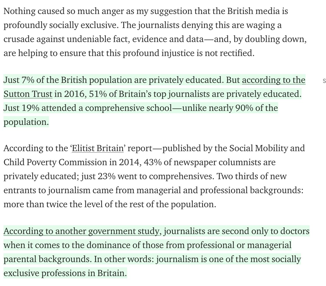 Data Do Over Backs Dominance Of >> Owen Jones On Twitter I Said Top Journalists And Every Single