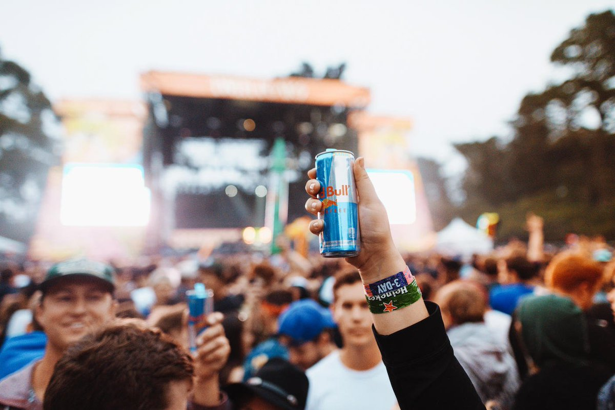 ranger dave is raising a toast to the weekend. #outsidelands (📷 captured by @redbull press pass winner @baeth)
