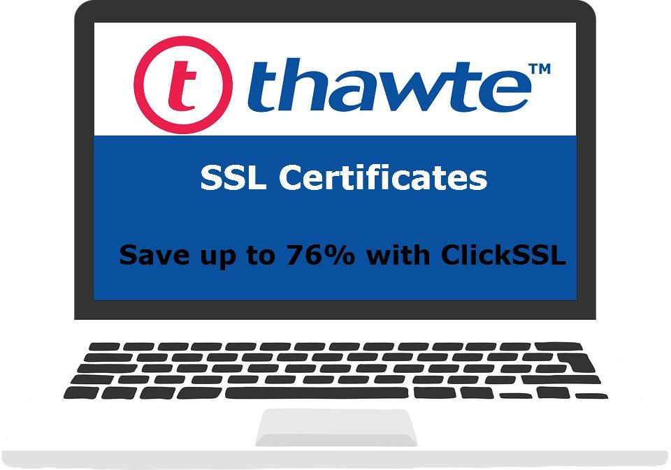 Clickssl On Twitter Thawte Ssl Certificates Secure Single