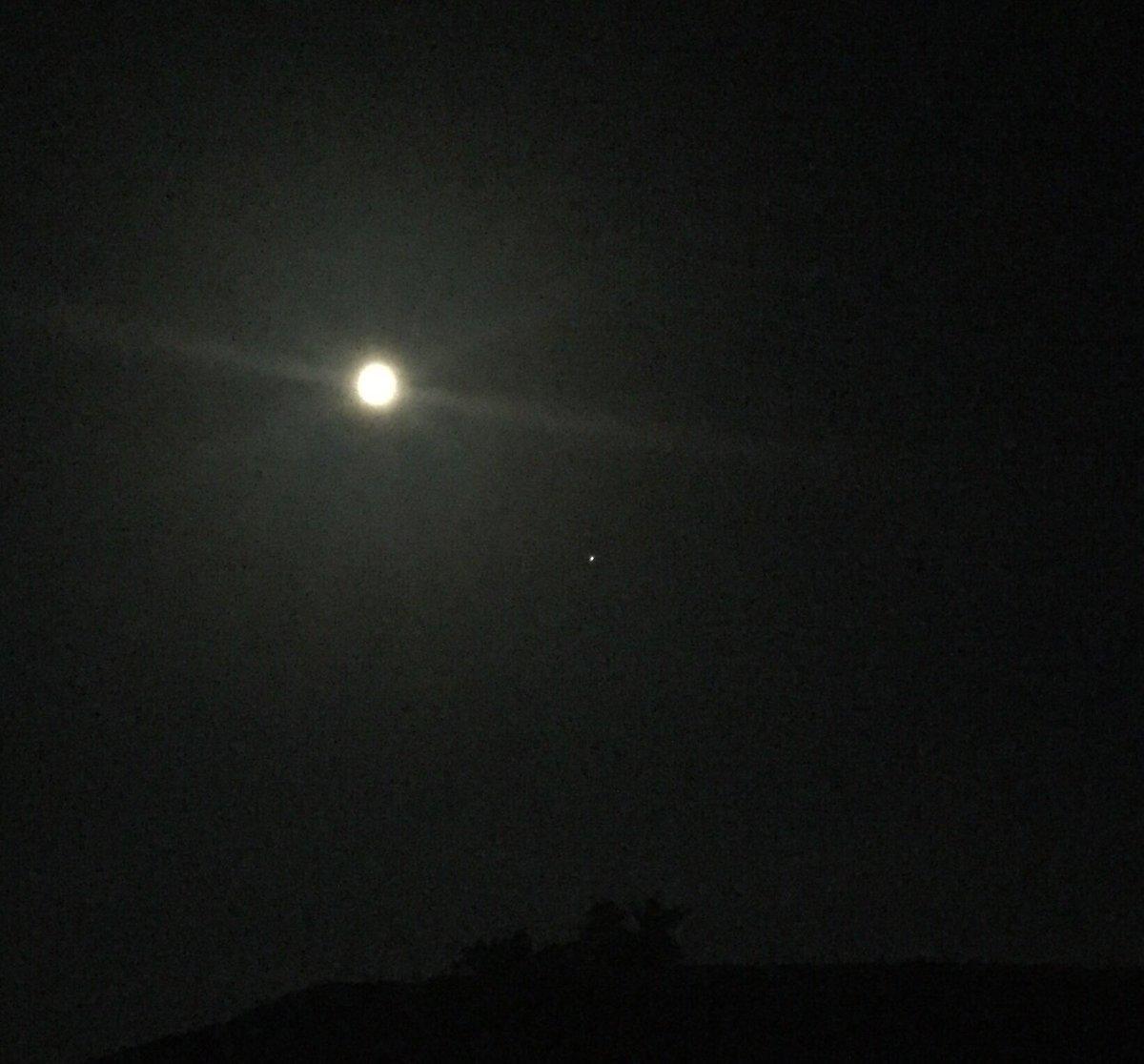 jon nese on twitter moon and mars over tussey mountain