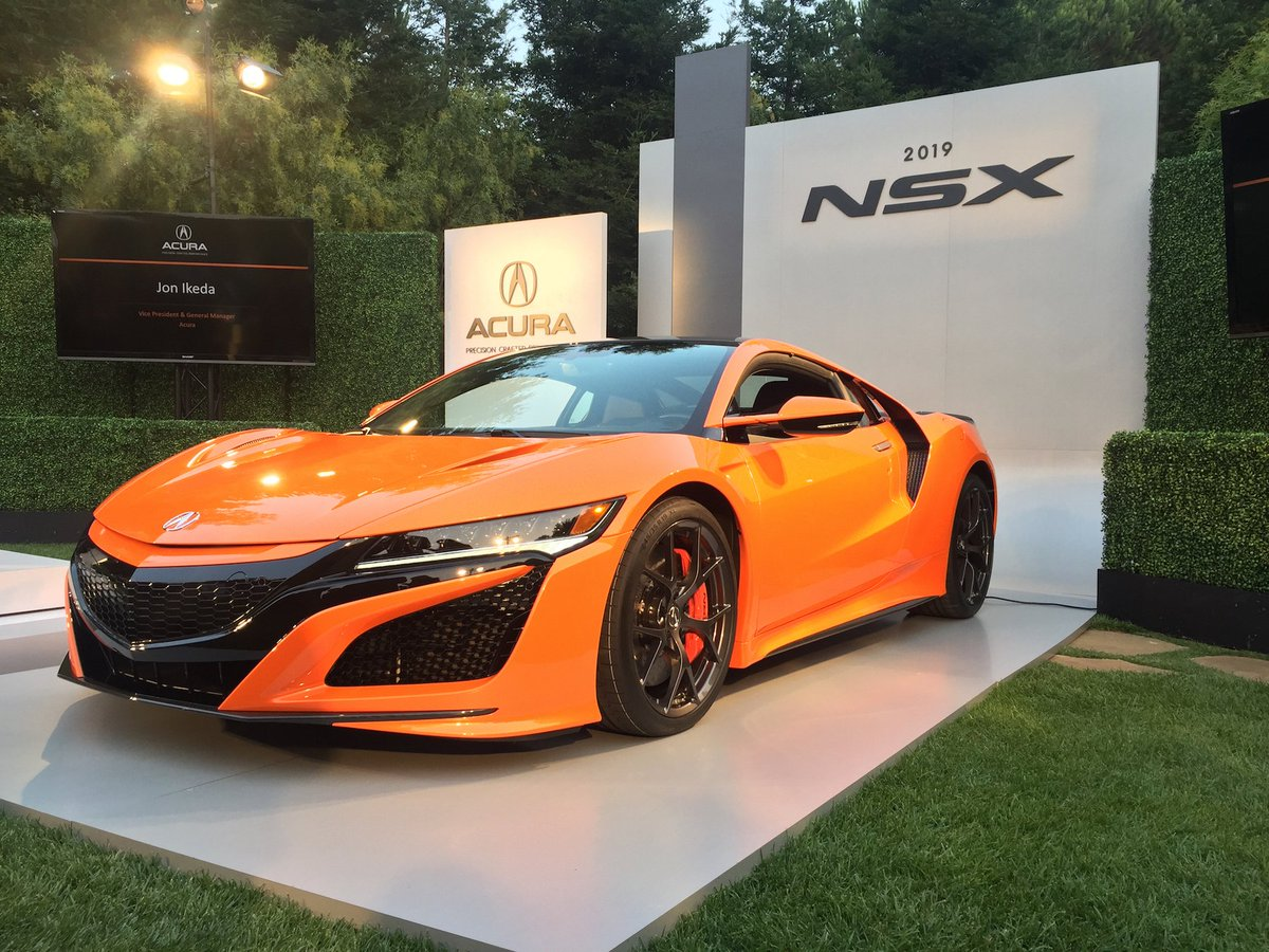 Car And Driver On Twitter The 2019 Acura Nsx Gets A Nose Job Better Chiore Orange Https T Co Vc6cvovxjg
