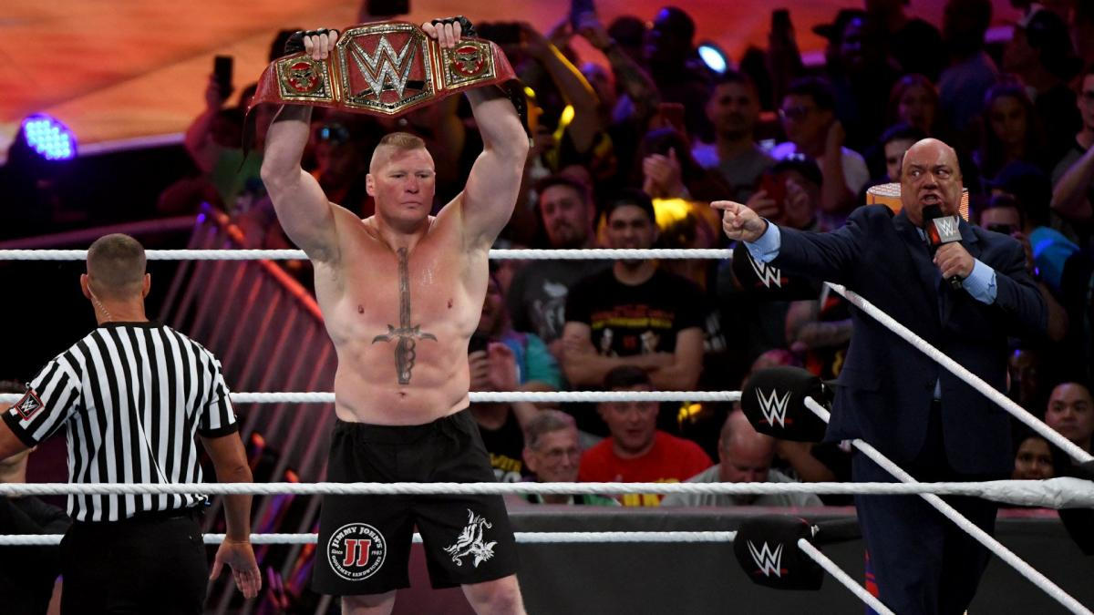 THOUGHT FOR THE DAY --  @BrockLesnar's historic @WWE #UniversalTitle reign lasted over 500 days. In this modern era, that is an almost-unthinkable accomplishment!