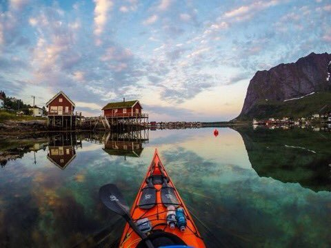 Kayaking the Lofoten Islands of Norway
