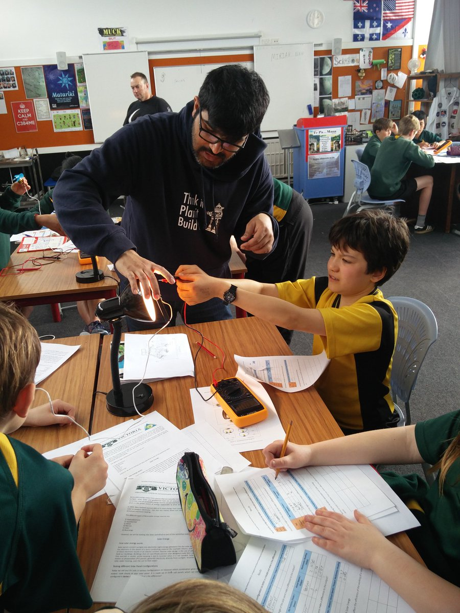 Pravin Vaz On Twitter Ecsoutreach At South Wellington Int School Series And Parallel Circuits For Kids 400 Over Two Days Doing Renewableenergy Using Solar Panels Figure Out Solarpanels Are The Way To Future