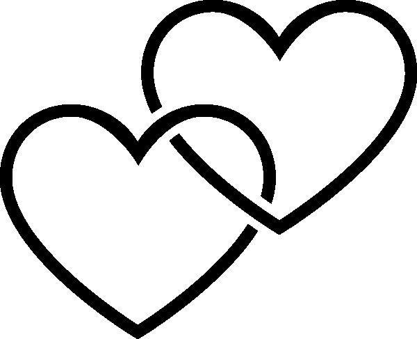 Картинки два сердца вместе красивые карандашом, своими руками дню