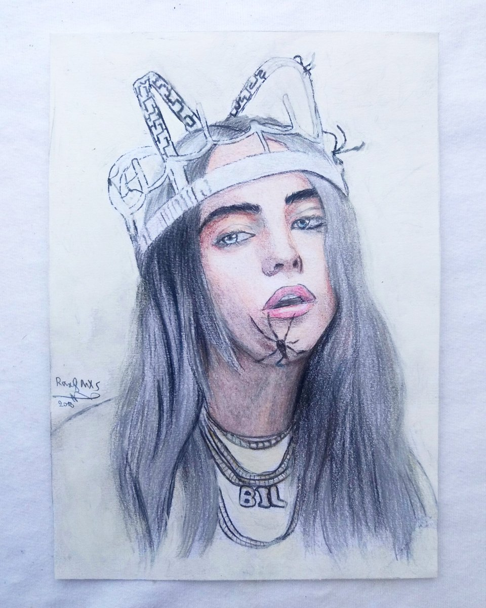 How To Draw Billie Eilish Video