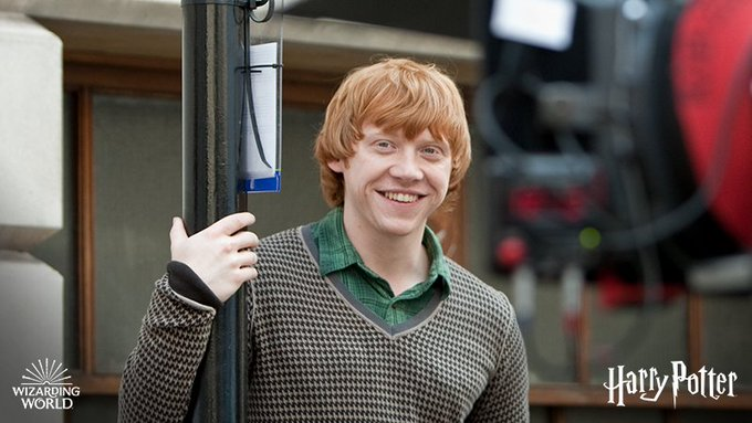 Happy Birthday to the wickedly witty Rupert Grint!