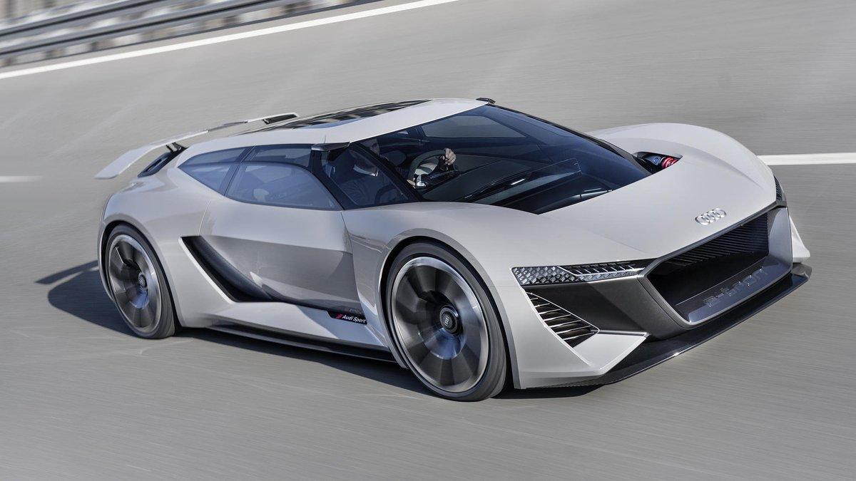 Audi Sport On Twitter The Audi Pb18 E Tron Concept Car Represents