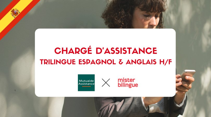 Mister Bilingue On Twitter Job Offer Charge D Assistance