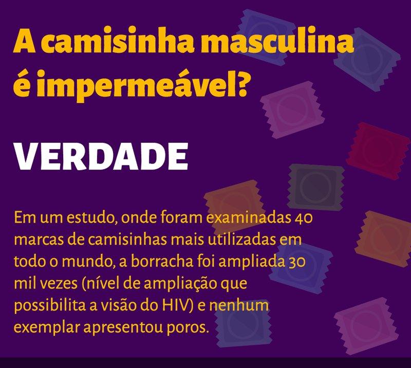 A camisinha masculina é impermeável? Sim, é verdade! #UseCamisinha