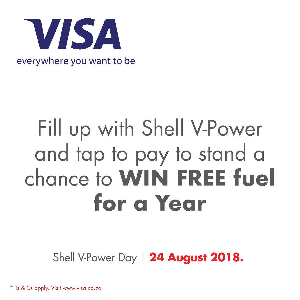 no one loves freebies like magssouthafrica you too can fill up with shellvpowerday shell pay with your visa card and stand the chance to win free fuel - Loves Fuel Card