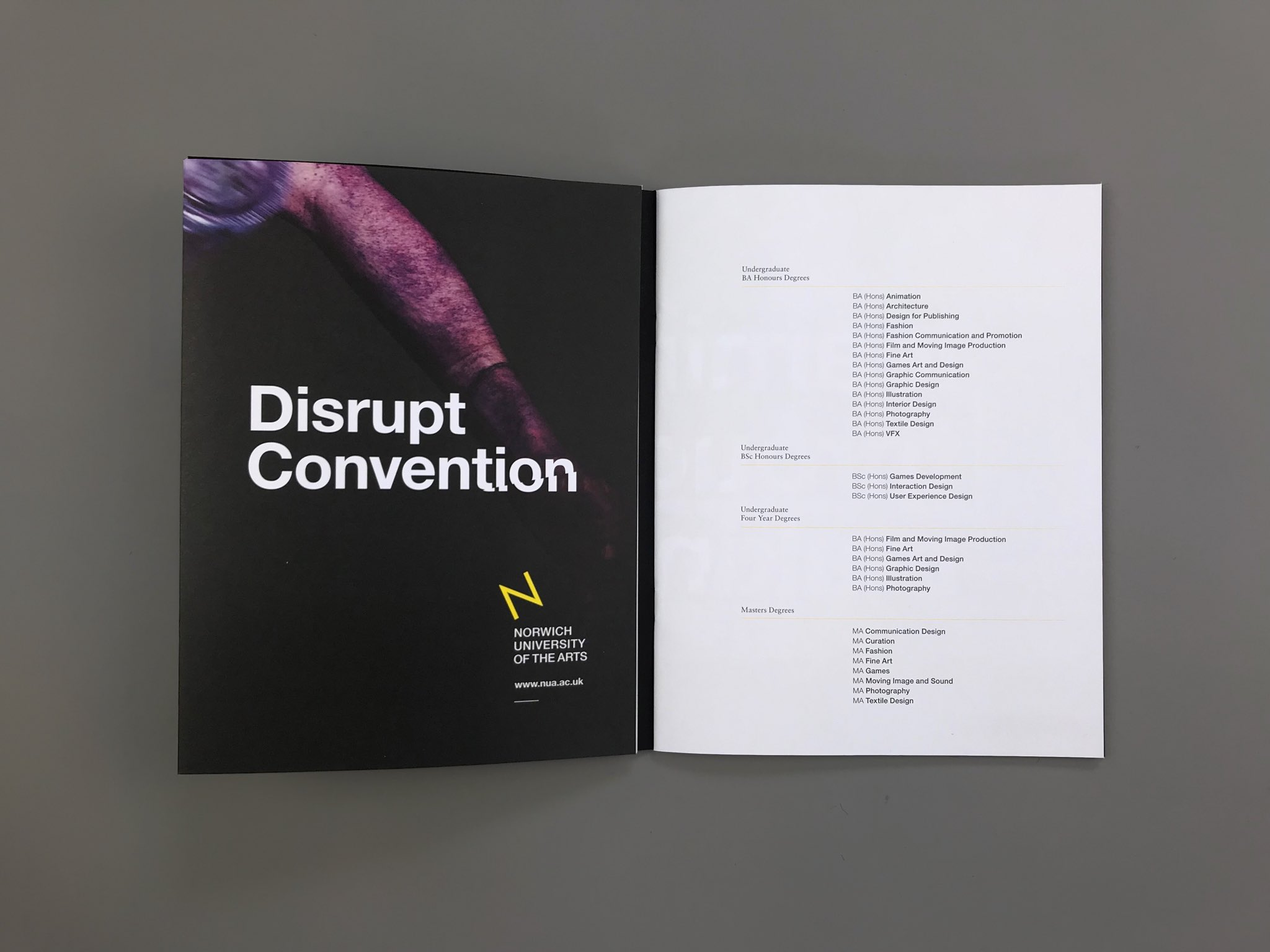 Ark On Twitter We Ve Designed A New Series Of Nua International Prospectuses With Poster Dust Jackets Inner Brochure Printed On Black Colorplanpapers With Yellow Foil Https T Co Gaus4zxo0s