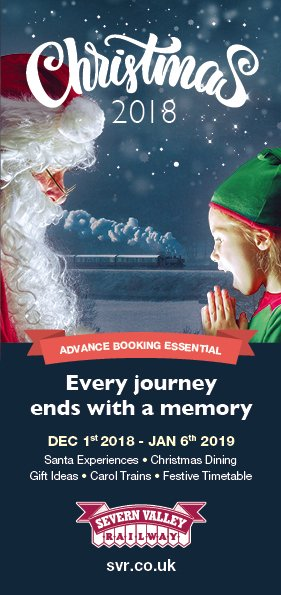Christmas Leaflet Ideas.Severnvalleyrailway On Twitter Book Early For