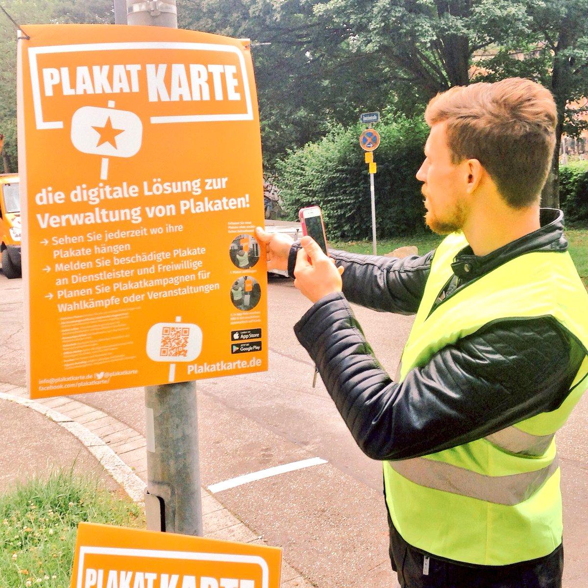 Plakatkarte ist bereit ihre #Plakate bei der #LtwBY18 & #LtwHessen mobil mit dem #Smartphone zu verwalten. #Wahlkampf geht so digital leichter! Probieren Sie es jetzt aus: https://plakatkarte.de/ #wahlplakatefromheaven #Landtagswahl2018 #Digitalisierung #SmartCity