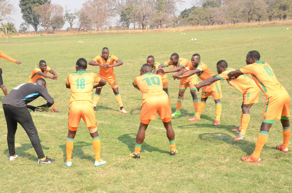 The team had its first training in Lusaka this afternoon...we are looking foward to a mouthwatering encounter this sunday at Edwin Imboela Stadium #TEAMKAWALE #TONKATWEENDE
