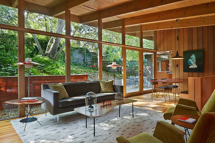 Home Adore On Twitter MidCentury Modern Renovation By Koch Extraordinary Midcentury Modern Living Room Minimalist