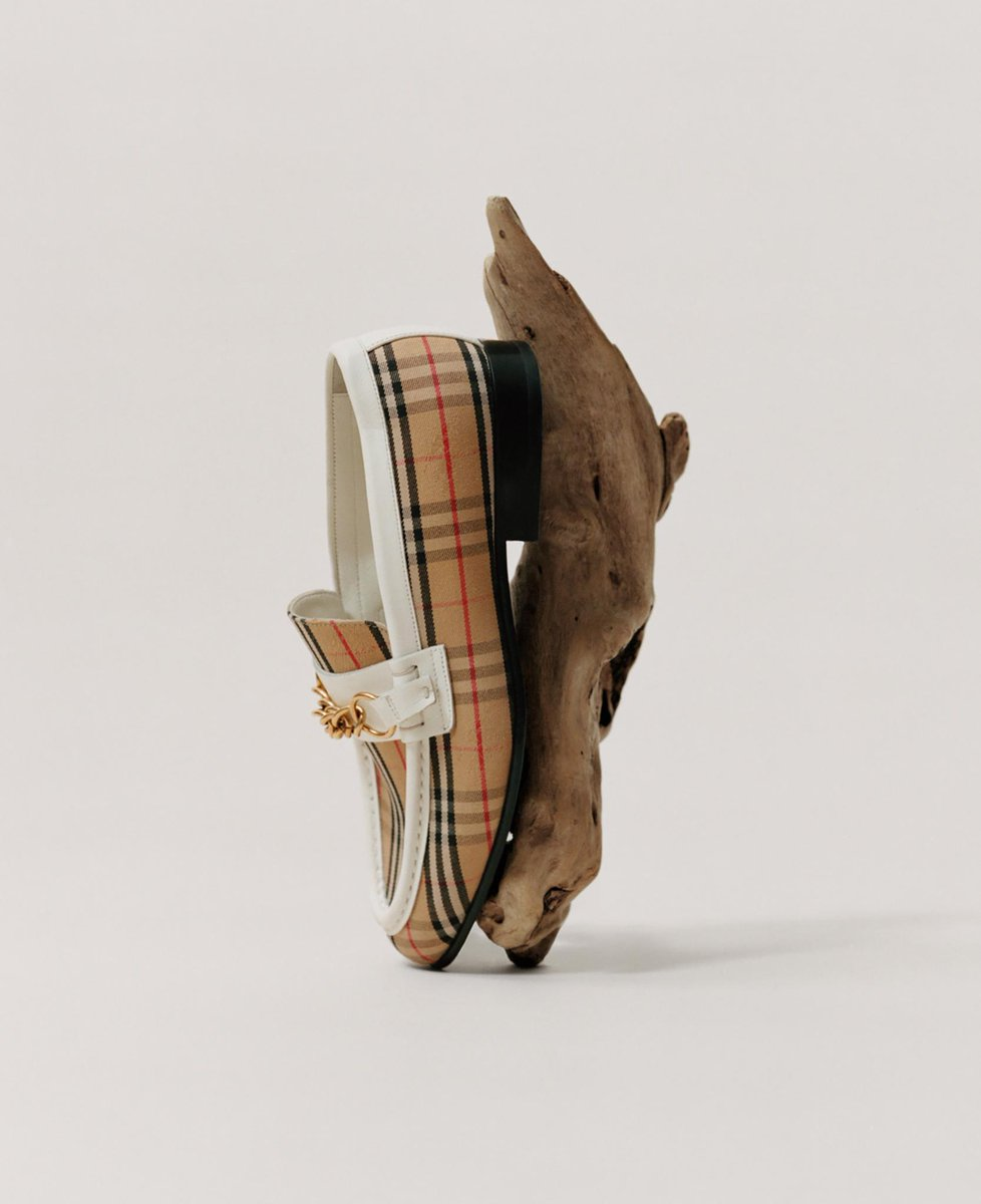 burberry on twitter classics reimagined the link loafer
