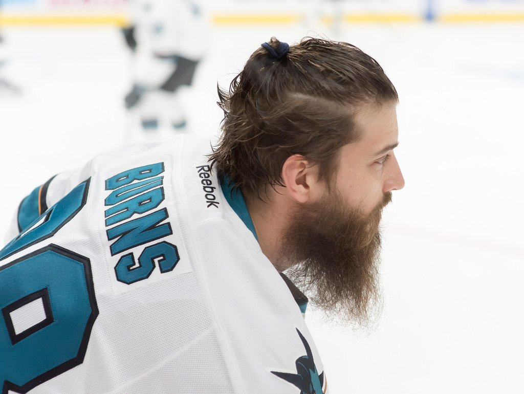 #FridayFunFact San Jose Sharks Defenseman Brent Burns has many pets including dogs, birds, reptiles, and snakes! I guess you could say he's an animal lover! #WeirdHockeyFacts #JerrysHockey