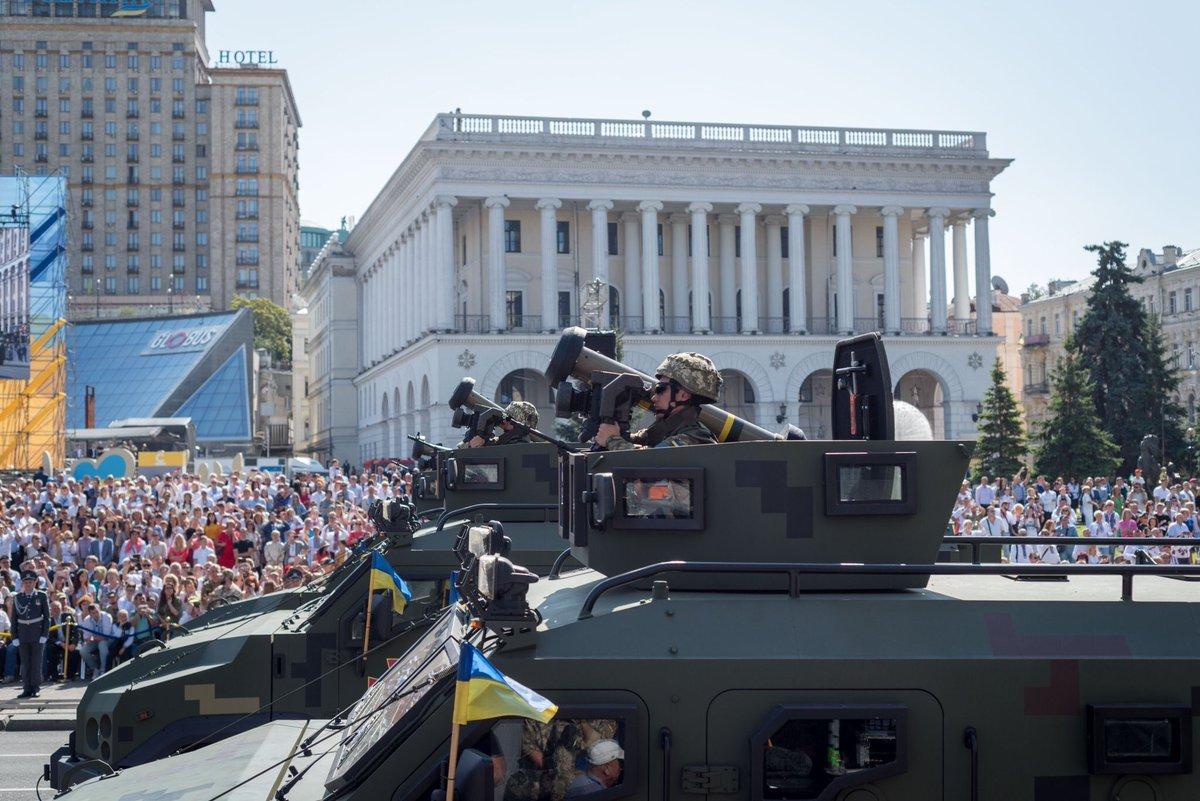 استعراض يوم الاستقلال الاوكراني 2018  DlXKluzV4AAZcV1