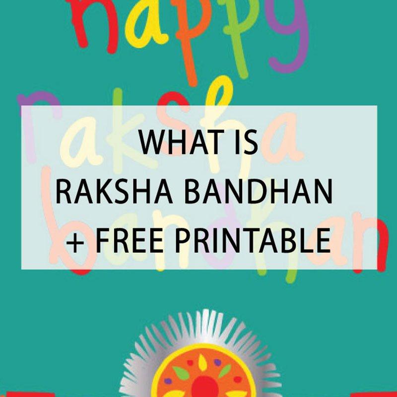 image regarding Raksha Bandhan Printable Cards titled The Playful Indian upon Twitter: \