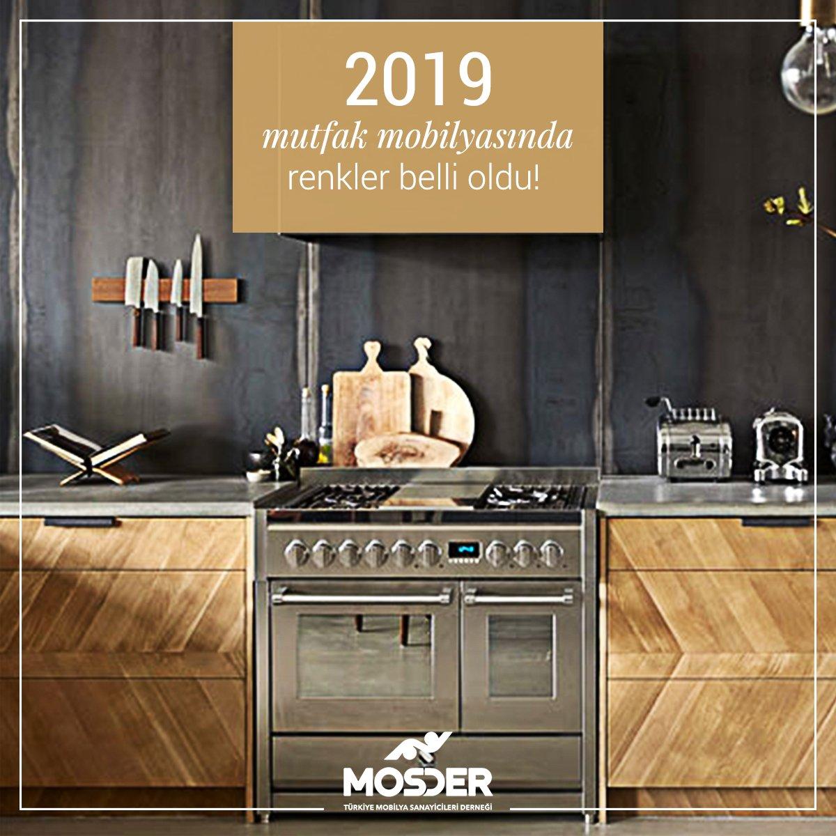 2019 mutfak renkleri