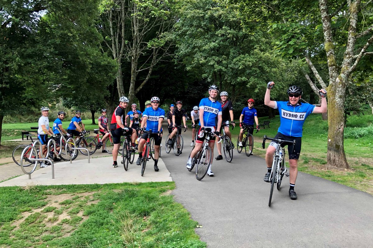 the teams endured 67 hours of cycling from portsmouth to taunton raise money for the charitypictwittercomuwh216plx0 office twitter t66 twitter