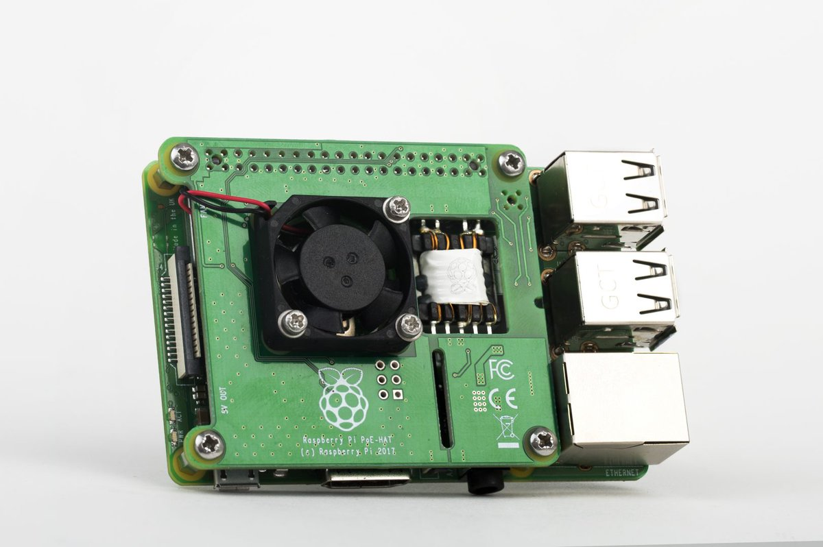 711f9b58105d Learn more in today s blog post (thanks  Roger Thornton!) and get your own  PoE HAT from our Raspberry Pi Approved Resellers. ...