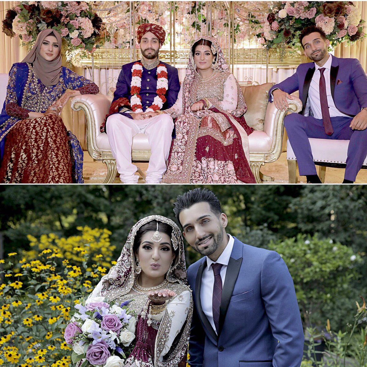 Sham Idrees On Twitter My Beautiful Sister All Grown Up And Married Congrats Anoosh And Sarim May Allah Bless Your Marriage Our Prayers Are Always With You Say Mashaa Allah Https T Co Mqfelborsn