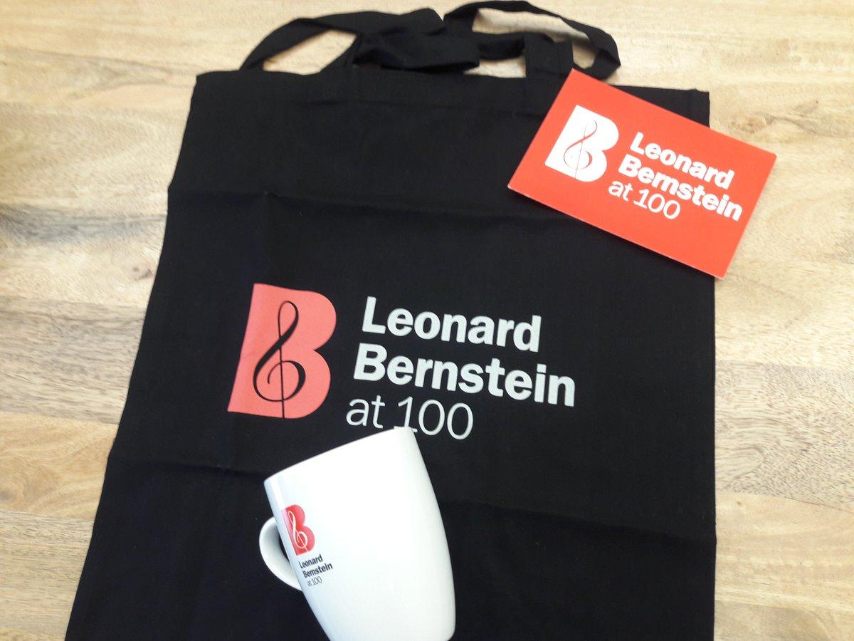 LEONARD BERNSTEIN AT 100 Tote Bag