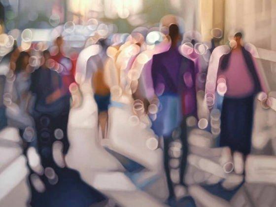【わかりすぎる】「近眼の人から見た世界」を描いた絵画   南アフリカの画家による作品。目のいい人にはなかなか理解してもらえない世界が、克明に描かれています。