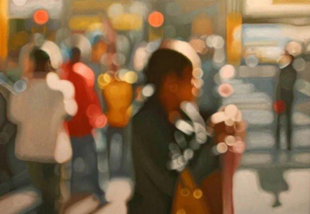 近眼の人にしかわからない?「近眼の人から見た世界」を描いた絵画がこれ!