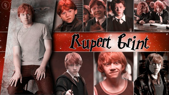 Happy Birthday to Rupert Grint! Hope it\s magical!